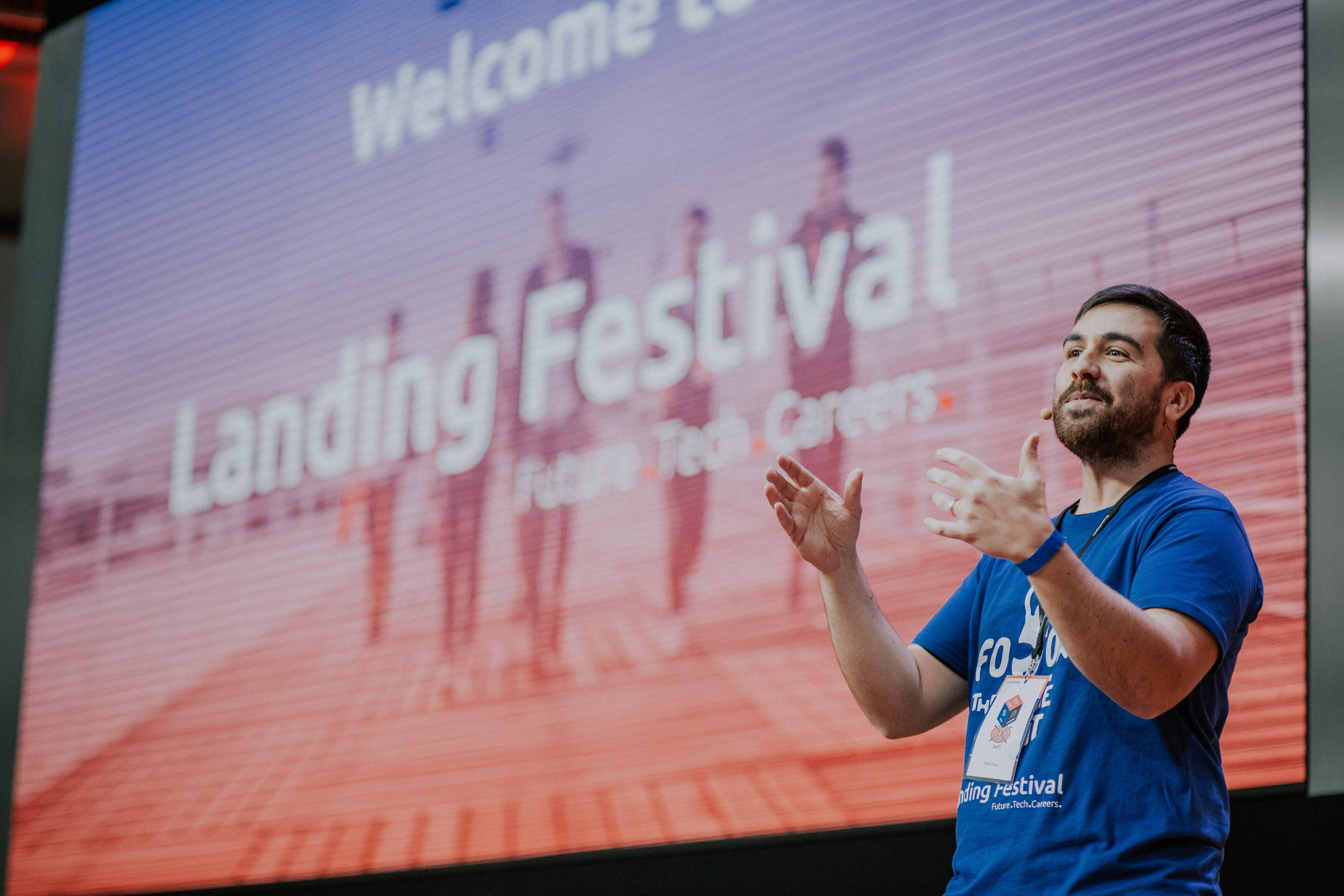 beamian en el Landing Festival 2018 – Berlín