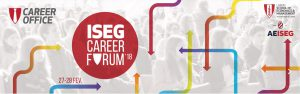 check ins and online pre-register with beamian at the ISEG Career Forum