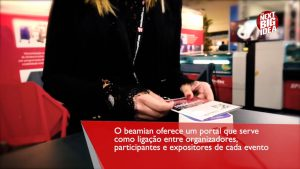 reprtage about Beamian service