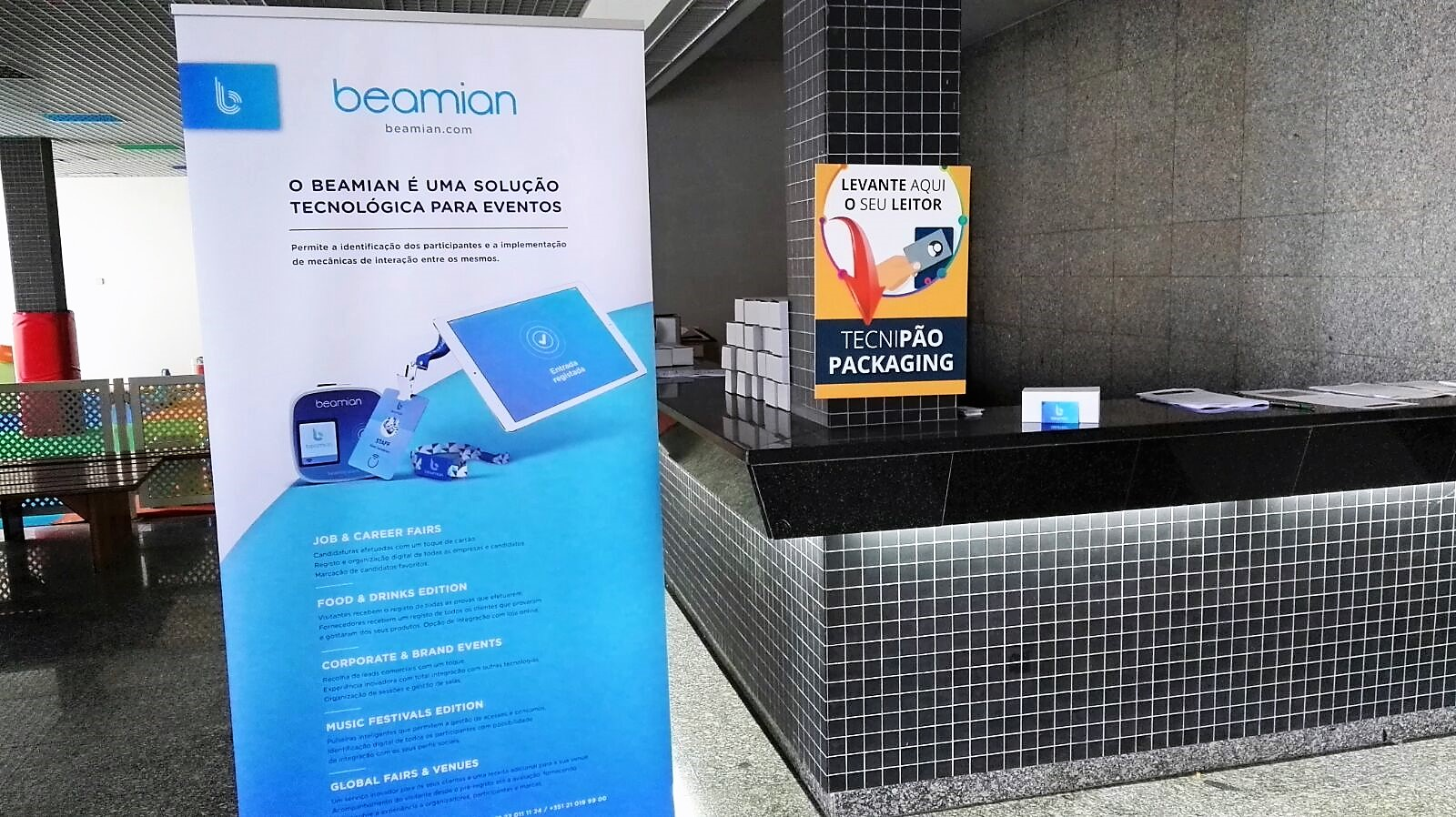 beamian at the Tecnipão – Packaging 2018 trade fair