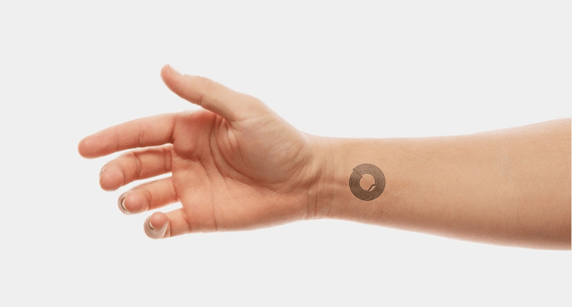 Smart Skin, an electronic tattoo for event identification