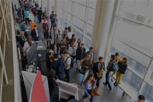 job fair, online registration, eletronic check, no waiting times in job fairs, digital resumes