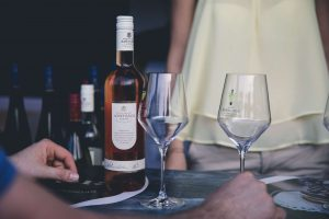 Wine tasting events and technological solutions for dgitally record visitor's favorites wines