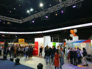 digital application; online registration at the event;