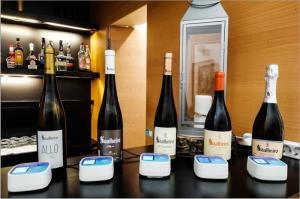 smart wine glass