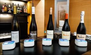 smart wine glass event